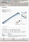 SL 263 LED; Low maintenance